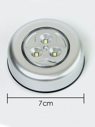 Picture of 1 Pc Wall Mounted Night Light Round Shaped Touch Control LED Light