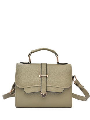Picture of Women's Shoulder Bag Stylish Solid Color High Quality Stylish Brief Bag
