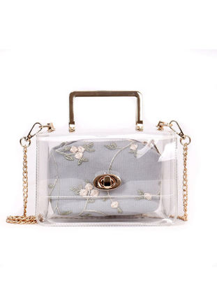 Picture of Women's Shoulder Bag Transparent Chic All Match Fashion Shoulder Bag