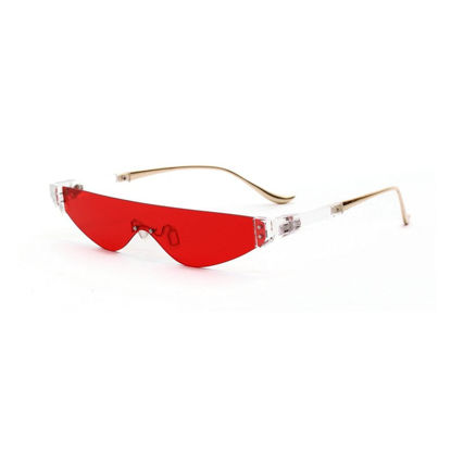 Picture of Men's Newly Designed Fasion Sunglasses Metallic Frame Eyes-protected Sunglasses