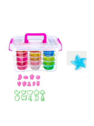 Picture of 24 Colors Crystal Clay And Tool Kit Educational DIY Toys