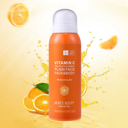 Picture of Vitamin C Protective Spray Whitening Fresh Sunscreen Mist Spray SPF50+ 160ml