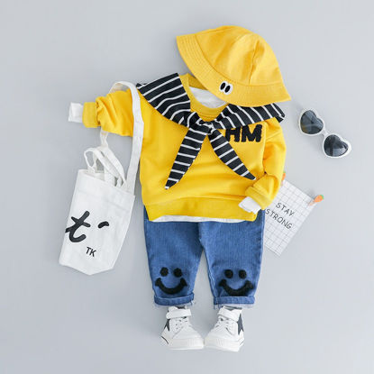 Picture of Baby's 2 Pcs Set Voguish Comfy Top and Pants Set