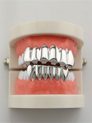 Picture of Hip-hop False Tooth Socket Party Cosplay Props