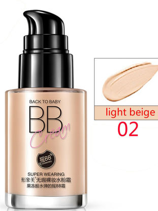 صورة BB Cream Moisturizing Blemish Cover Liquid Foundation Makeup