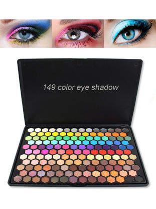 Picture of 149 Color Luxury Matte Shimmer Glitter Nude Eyeshadow Pallete Cosmetic Pigment Makeup Eye Shadow