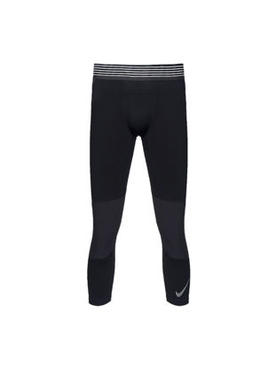 Picture of Nike Men's Fashion Pants Breathable Skinny Sports Cropped Leggings
