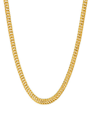 Picture of Lucky Doll Men's 18K Gold Plating Chain Necklace Male Classic Catenary