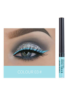 Picture of 12 Colors Matte Long-lasting Liquid Eyeliner No Blooming Colored Eye Liner