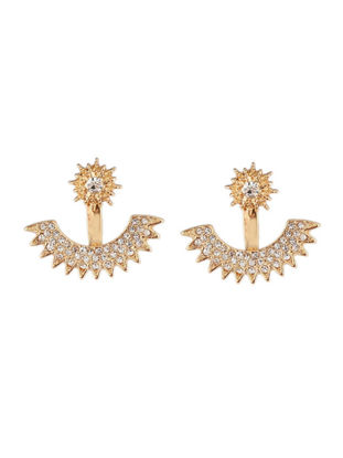 Picture of Women's Studs All Match Stylish Rhinestone Vogue Earrings Accessory