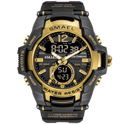 Picture of Men's Sport Watch Big Dial Waterproof Multi-functional Watch Accessory