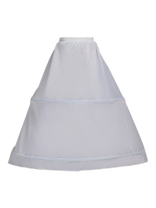 Picture of Women's Pannier 2-Hoop Elastic Steel Useful Ball Gown Petticoat Underskirt
