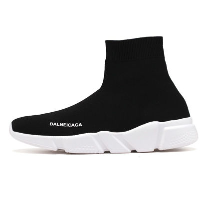 Picture of Men's Sports Fashion Shoes High Top Soft Sole Comfy Running Shoes