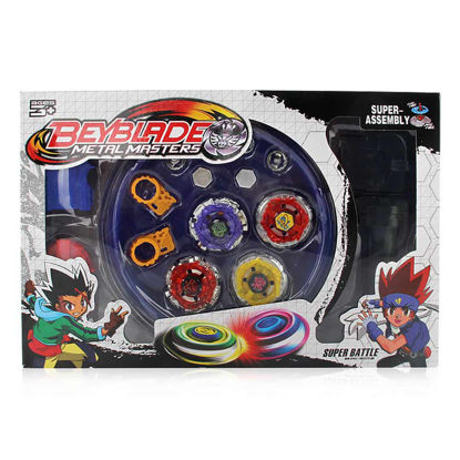Picture of Boys Spinning Tops Constellations Print Assemble Creative Toys