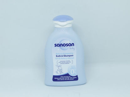 Picture of Sanosan shampoo &bath 200ml