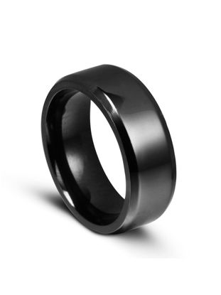 Picture of Men's Simple Ring Stylish Titanium Steel Ring Accessory