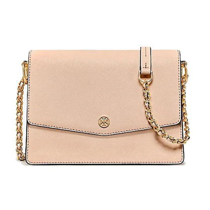 Picture of Tory burch Women's Crossbody Bag Solid Color Hasp Lock Elegant Sweet Bag