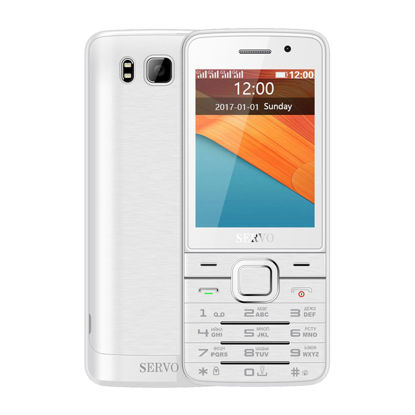 Picture of SICO C043 Quad SIM Cards 2.8 inch HD Big Screen cards with Dual Camera GPRS Bluetooth vibration MP4 V9500