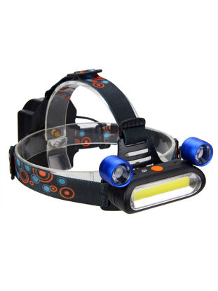 Picture of YWXLight COB LED Headlamp Torch Rechargeable Headlight Lamp Camping Light