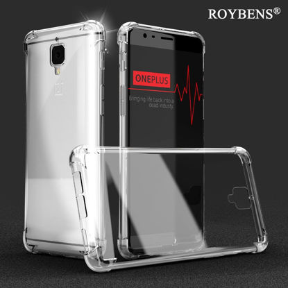 Picture of OnePlus 7/7 Pro/6/6T/5/5T/3/3T Phone Cover Business Clear HD TPU Phone Case