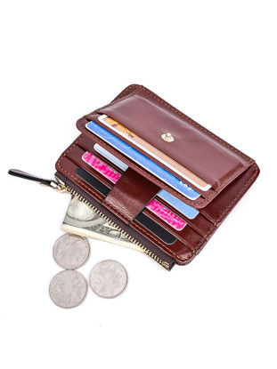 Picture of Men's Wallet Zipper Anti Theft Creative Design High Capacity Men's Wallet