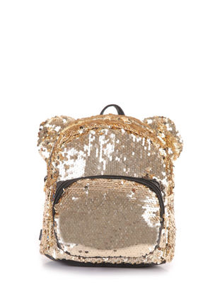 Picture of Women's Backpack Sequins Lovely Cute Zipper Casual Bag