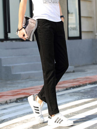 Picture of Man's Casual Pants Fashion Leisure Straight Loose Full Length Trousers