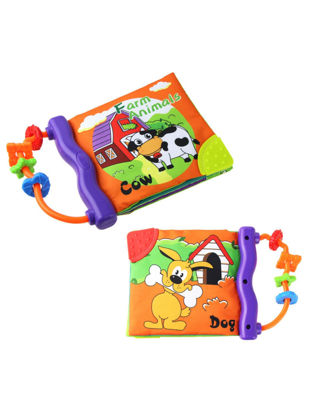 Picture of 1 Pc Baby Cloth Book English Letter Learning Sounding Book