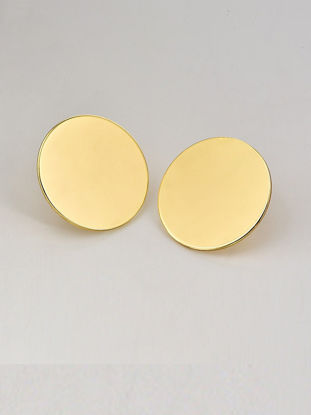 Picture of Women's Studs Plain Style Round Shape Simple All Match Trendy Earrings