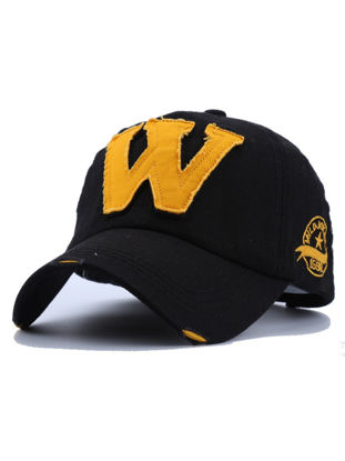 Picture of Men's Hat Trendy Letter Pattern All Match Baseball Cap