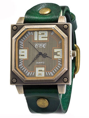 Picture of Men's Watch Retro Stylish Square Shape Display Wrist Watch Accessory