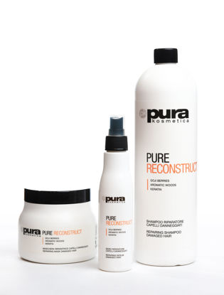 Picture of set RECONSTRUCT SHAMPOO 1000 ML & MASK 500 ML & SERUM 150 ML.