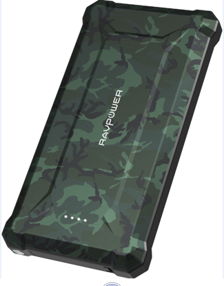 Picture of RAVPower RP-PB097 Waterproof 20100mAh Power Bank Camouflage Offline