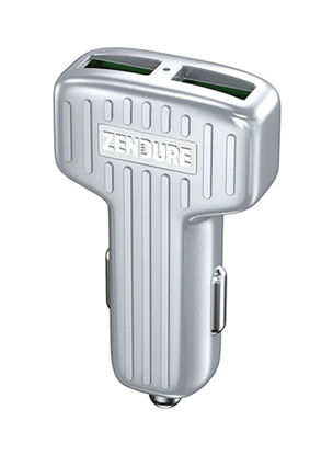 Picture of Zendure 2-Port Car Charger with QC Silver