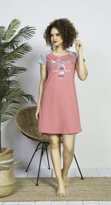 صورة ENKI WOMEN COTTON PINK TUNIC SET