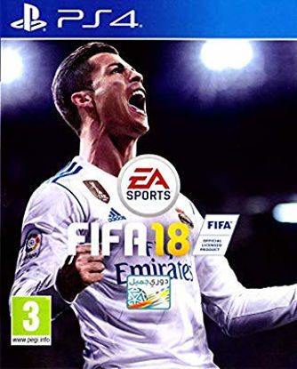 Picture of fifa 18 Arabic version for PlayStation 4
