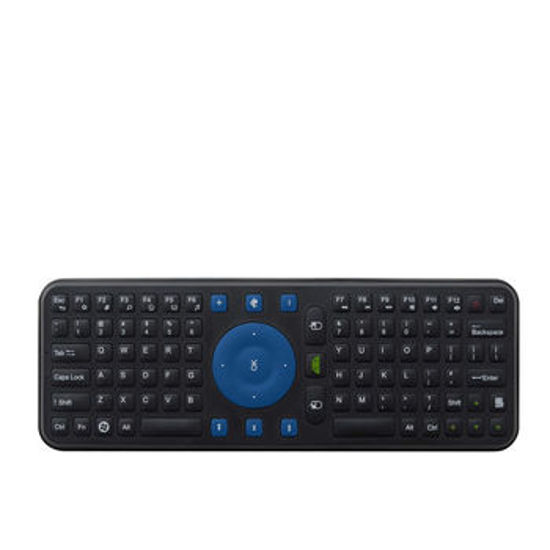 Picture of Measy RC7 2.4G USB Wireless Keyboard Gyroscope Air Mouse Remote Controller for Android TV Box, PC