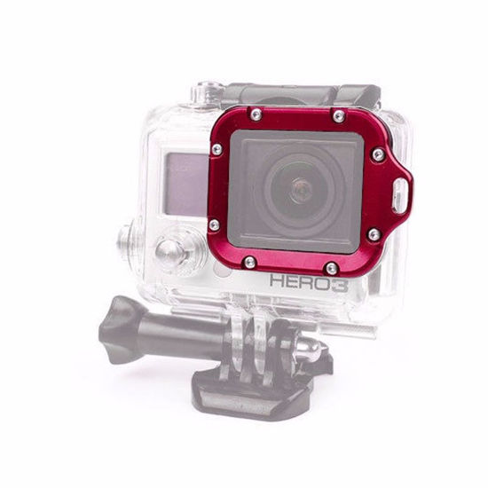 Picture of Aluminum Metal Lanyard Lens RING Mount and Screwdriver for GoPro Hero 3 3+ Action Camera
