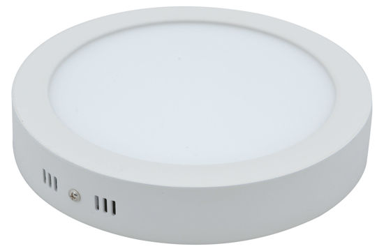 Picture of Surface Panel Round/yellow/3000k/24w