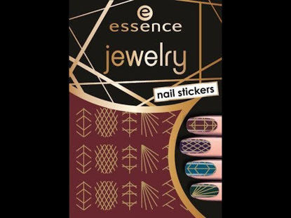 صورة ESSENCE JEWELERY NAIL STICKERS 09 JEWELRY