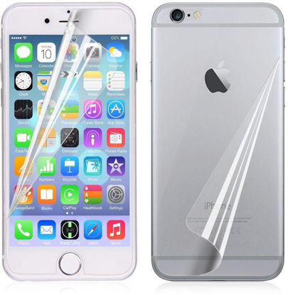 صورة 2in1 Front & Back Double Screen Protector True Crystal Clear Film for Apple iPhone 6/ 6S Plus