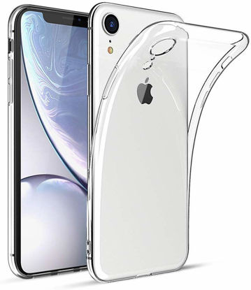 صورة iPhone XR Slim Flexible TPU Protective Case Cover - Clear