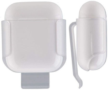 Picture of Elago Belt Clip Holster Detachable Shockproof Protective Shell Cover for Apple Airpods - Grey