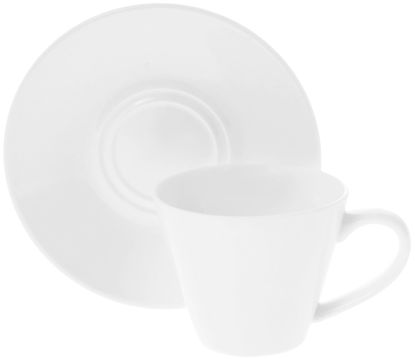 صورة 4 OZ | 110 ML COFFEE CUP & SAUCER SET OF 6 IN COLOUR BOX