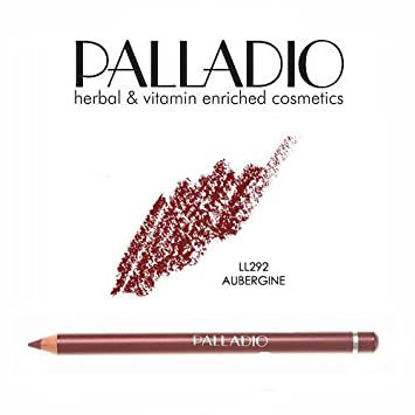 Picture of PALLADIO AUBERGINE LIP PENCIL 292