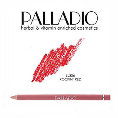 Picture of PALLADIO ROCKIN RED LIP PENCIL 306