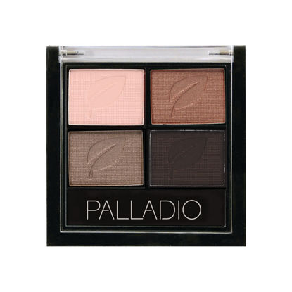 صورة PALLADIO TANTALIZING TAUPE EYE SHADOW QUADS 01