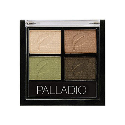 صورة PALLADIO GREEN TO GO EYE SHADOW QUADS 03