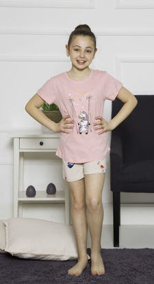 Picture of ENKI GIRLS COTTON SHORTS SET