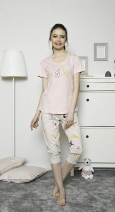 صورة ENKI WOMEN COTTON CAPRI SET